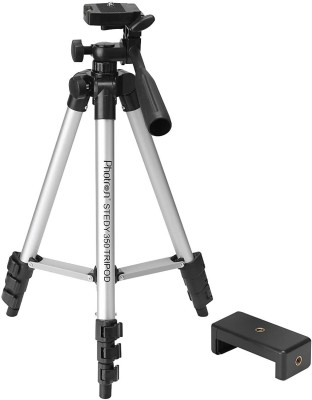 Photron PHT350 Tripod  (Black, Silver, Supports Up to 2000 g)