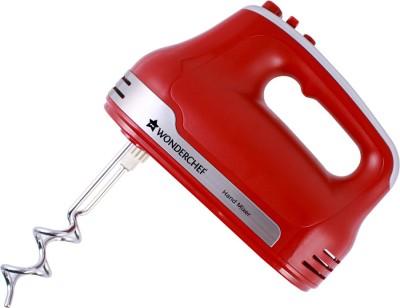 WONDERCHEF Revo Hand Mixer 300 W Electric Whisk(Red)