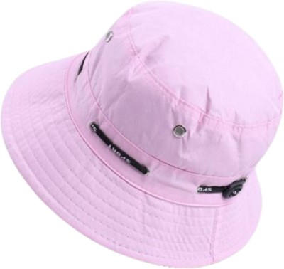 ZACHARIAS Fishermen Bucket Cap Hat(Light Pink, Pack of 1)