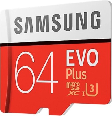 Samsung EVO Plus 64  GB MicroSDXC Class 10 100 MB/s Memory Card Samsung Memory Cards