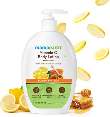 MamaEarth Vitamin C Body Lotion with Vitamin C & Honey for Radiant Skin(400 ml)