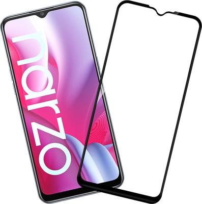 Flipkart SmartBuy Edge To Edge Tempered Glass for Realme Narzo 20, Realme Narzo 20A, Realme C11, Realme C12, Realme C15, Realme C3, Realme 5, Realme 5i, Realme 5s, Oppo A9 2020, Oppo A5 2020, Realme Narzo 10, Realme Narzo 10A, Oppo A31(Pack of 1)