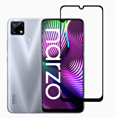 DSCASE Edge To Edge Tempered Glass for Gionee Max Pro, Realme Narzo 30A, Motorola Moto E7 Power, Realme Narzo 20, Realme C11, Realme Narzo 20A, Realme C12, Realme C15, Realme C3, Realme 5, Realme 5i, Oppo A9 2020, Oppo A5 2020, Realme Narzo 10, Realme Narzo 10A, Oppo A31(Pack of 1)