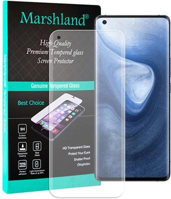 Marshland Tempered Glass Guard for Vivo X50 Pro Uv Matte Finish(Pack of 1)