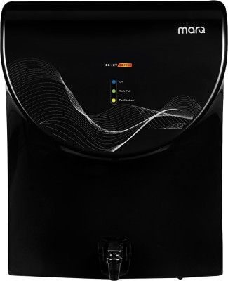 MarQ by Flipkart MQWPAROUVB7L 7 L RO + UV Water Purifier with Mineraliser & Copper (Black)