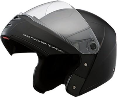 STUDDS Ninja Elite black Motorbike Helmet(Black)