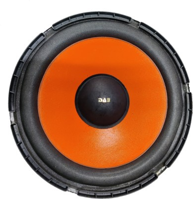 DAB 10 inch Orange 120 Magnet Subwoofer(Powered , RMS Power: 200 W)