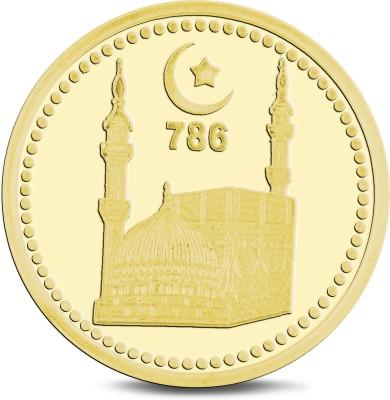 jplonkar Gold coin 10 gm Mecca Madina 24  995  K 10 g Gold Coin jplonkar Jewellery
