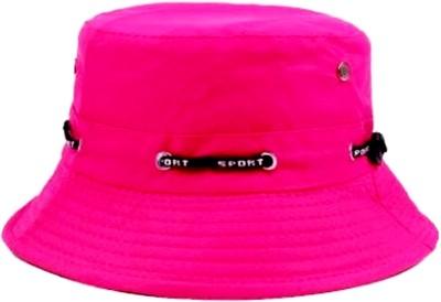 ZACHARIAS Fishermen Bucket Cap Hat(Pink, Pack of 1)