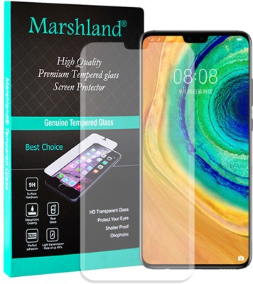 MARSHLAND Tempered Glass Guard for Huawei Mate 30 pro Uv Matte Finish(Pack of 1)
