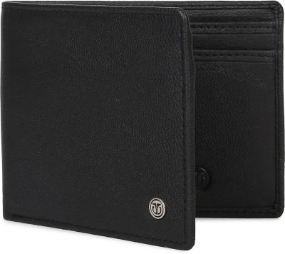 Titan Men Black Genuine Leather Wallet Titan Wallets