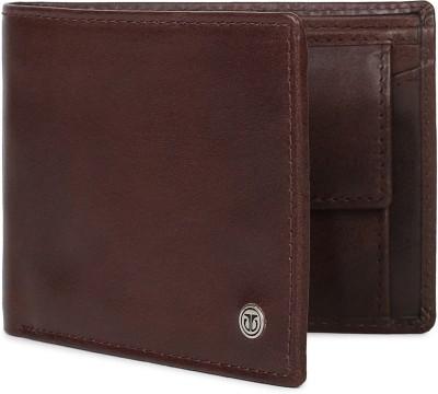 TitanMen Brown Genuine Leather RFID Wallet   Mini