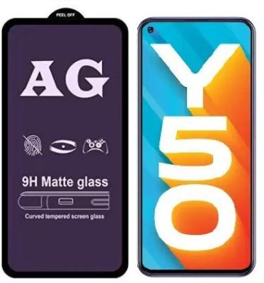 S-Hardline Edge To Edge Tempered Glass for Vivo Y50(Pack of 1)
