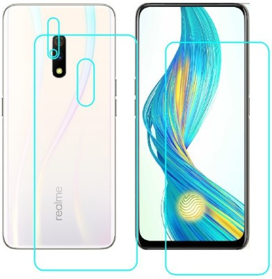 BPR Front and Back Screen Guard for Realme X (8GB RAM + 256GB)(Pack of 3)