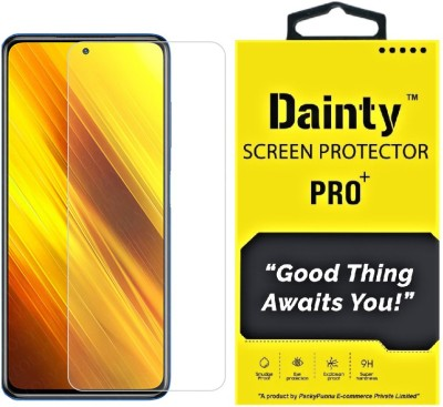 Dainty Tempered Glass Guard for Poco X3, Poco X2, Poco M2 Pro, Mi Redmi Note 9 Pro, Mi Redmi Note 9 Pro Max(Pack of 1)