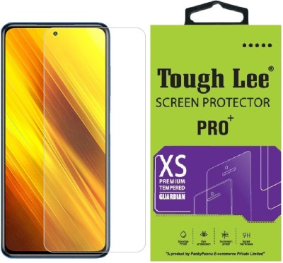 Tough Lee Tempered Glass Guard for Poco X3, Poco X2, Poco M2 Pro, Mi Redmi Note 9 Pro, Mi Redmi Note 9 Pro Max(Pack of 1)