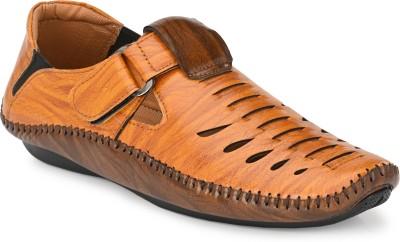 TOP CHOICE Men Tan, Brown Sandals