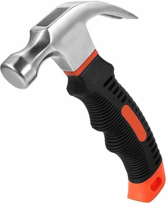 Harikrushnaa Mini Portable Claw Hammer Carpentry Iron Hammer Household Multipurpose Hammer Hardware Tools Car Safety Glass Escape Hammer Curved Claw...