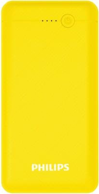 PHILIPS 10000 mAh Power Bank (10.5 W)(Yellow, Lithium Polymer)