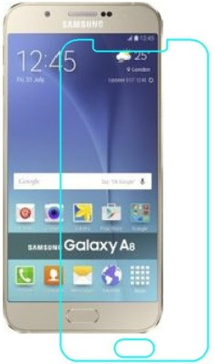 BPD Edge To Edge Tempered Glass for Samsung Galaxy A8(Pack of 1)