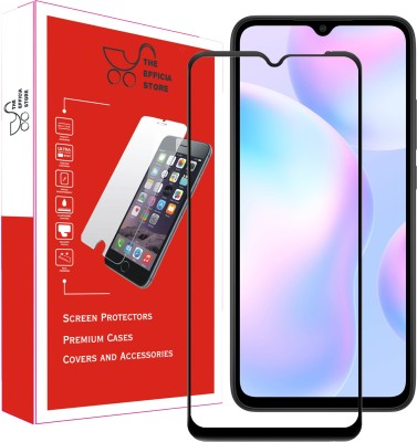 Efficia Edge To Edge Tempered Glass for Poco M2(Pack of 1)