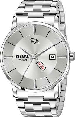 rofl Classy Premimum Day And Calender Classy Analog Watch  - For Men