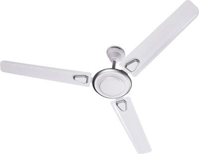 Crompton Super briz deco High Speed Ceiling Fan 1200 mm 3 Blade Ceiling Fan(Silver White, Pack of 1)