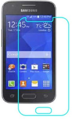 BKPRO Edge To Edge Tempered Glass for Samsung Galaxy Ace NXT(Pack of 1)