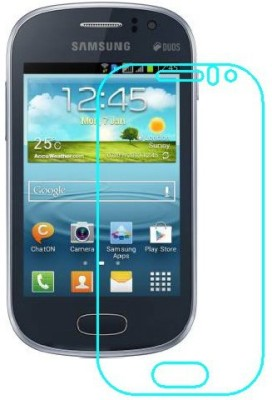 RVK Edge To Edge Tempered Glass for SAMSUNG GALAXY FAME(Pack of 1)