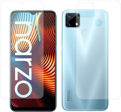 Fashion Way Front and Back Screen Guard for Realme Nazro 20(Pack of 2)