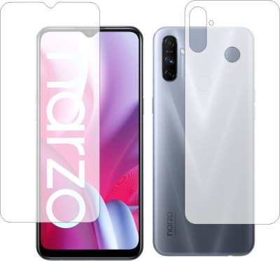 Fashion Way Front and Back Screen Guard for Realme Nazro 20A(Pack of 2)