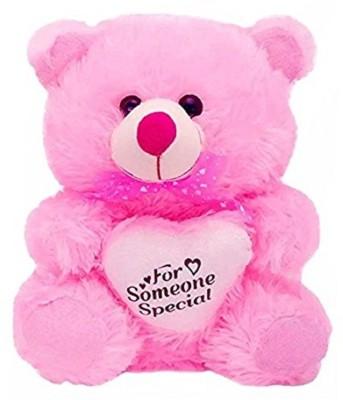 Agnolia Perfect Soft Toy Gift for Valentine/girl/boy Someone special teddybear - 27 cm  - 27 cm(Multicolor)