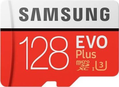 Samsung evo 128  GB Ultra SDHC Class 10 100 MB/s Memory Card With Adapter