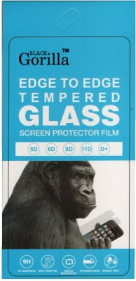 Black Gorilla Edge To Edge Tempered Glass for Infinix Hot 10(Pack of 1)