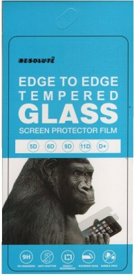 Resolute Edge To Edge Tempered Glass for Spinup A9(Pack of 1)