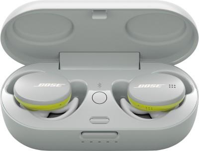 Bose Sport Earbuds Bluetooth Headset(Glacier White, True Wireless)