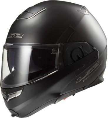 LS2 FF393 Motorbike Helmet(Black)