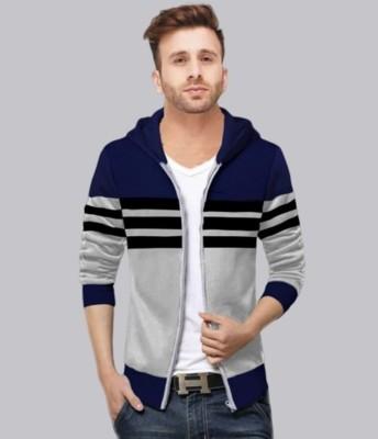 FastColors Full Sleeve Striped Men Jacket