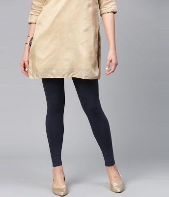 FUBAR Ankle Length  Ethnic Wear Legging(Black, Solid)
