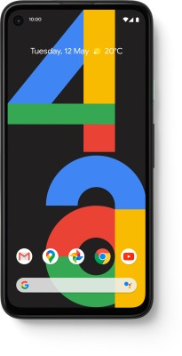 Google Pixel 4a (Just Black, 128 GB)(6 GB RAM)