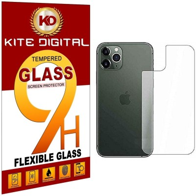 KITE DIGITAL Back Tempered Glass for IPHONE 11 PRO BACK(Pack of 3)