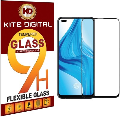 KITE DIGITAL Edge To Edge Tempered Glass for OPPO F17 PRO(Pack of 3)