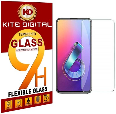 KITE DIGITAL Tempered Glass Guard for ASUS ZENFONE 6(Pack of 1)