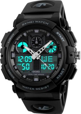 SKMEI marks  1270 Grey Sports Analog Digital Watch   For Men SKMEI Wrist Watches