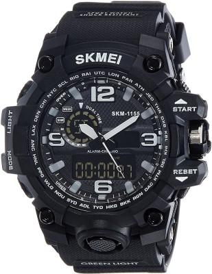 SKMEI SK1155 Sports Analog Analog Digital Watch   For Men SKMEI Wrist Watches