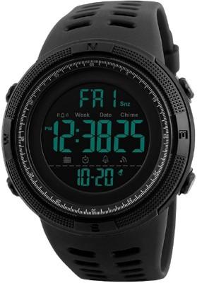 Skmei 1251 Black Chronograph Digital Digital Watch  - For Boys
