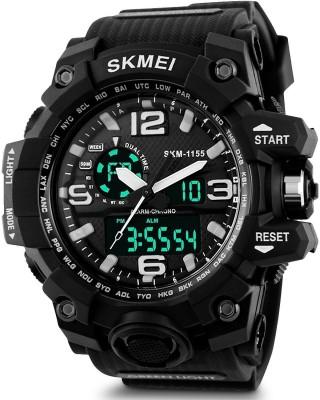SKMEI 12121 Analog Digital Watch   For Men SKMEI Wrist Watches
