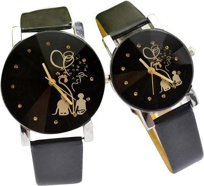 Navmi COUPLE Analog Watch   For Men   Women Navmi Wrist Watches