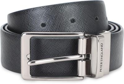 PETER ENGLAND Men Formal Black Artificial Leather Belt