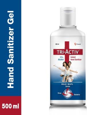 Tri-Activ 72% Alcohol Based Instant Hand Sanitizer Bottle(500 ml)